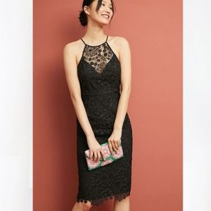 NWT Yumi Kim Delilah Lace Dress In Black